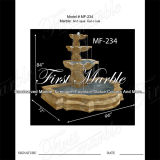 Fontaine antique en travertin pour décoration intérieure Mf-234