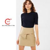 Xh prendas de vestir de la Fábrica Real de producir mini falda