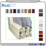 Perfil de aluminio para la ventana, persianas, muebles y suelos