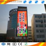 Tela de indicador ao ar livre do diodo emissor de luz da capsulagem da tríade P8 para o vídeo do anúncio ao ar livre