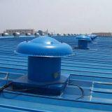 Ventilador de exaustão montado em telhado industrial revestido a prova de explosão FRP