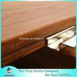 Sitio de bambú pesado tejido hilo al aire libre de bambú 31 del chalet del suelo del Decking