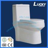 Toilette d'articles de l'Arabie Saoudite Siphonic de toilette de la courroie 250mm/300mm d'usine de Henan de commode sanitaire affleurante de salle de bains