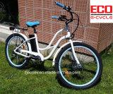 Bici de la arena con la batería de litio para la bicicleta eléctrica femenina