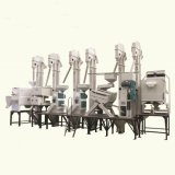 완료하십시오 Rice Processing Equipment (Model CTNM26)의 Set를