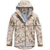 Highquality WaterproofおよびBreathableの軍のHardshell Jacket