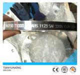 Flange do aço inoxidável do duplex da flange de placa do RUÍDO de Saf2205 S31803/1.4462