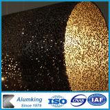 Piatti di alluminio della gomma piuma della decorazione della gomma piuma del metallo