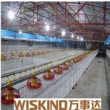 Tettoia prefabbricata del pollame dell'azienda agricola della struttura d'acciaio