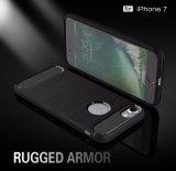 Shockproof escovados Cheio-Cobrem a caixa protetora do telefone móvel para o iPhone 7/8