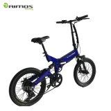 新しい電気自転車! 速く携帯用Eバイクを折る李イオン電池