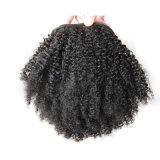 Estensione riccia calda dei capelli umani del Ponytail di vendita 8A per le donne di colore