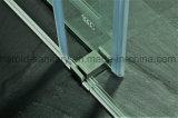 Baracca dell'acquazzone di vetro di scivolamento del rullo dell'acciaio inossidabile