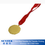 Oro del espacio en blanco de la sublimación de la impresión del traspaso térmico/divisa de plata