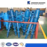 El hidrociclón, ciclón del agua usado para la fineza recicla