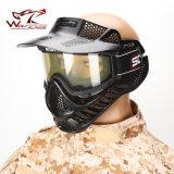 Versione 2 tattica della mascherina dello Scott dell'obiettivo della radura degli occhiali di protezione di Airsoft Paintball del fronte pieno
