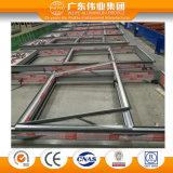 Visibles Profil en aluminium mur rideau du châssis