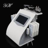 Liposuction coreano del RF de la onda ultrasónica de la máquina 2017 de la belleza mini que adelgaza la máquina de la piel de la belleza