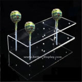 Casa de acrílico transparente con forma de caja de caramelos (BTR-K4047)