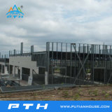 Structure en acier modulaires préfabriquées Projet de construction pour l'Entrepôt/atelier/usine
