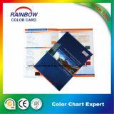 Catalogue de carte de couleur de peinture de mur de matériau de construction
