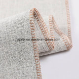 Deux faux Linge de couleur 100% polyester Tissu tissé
