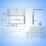 Pantalla LCD gráfica Módulo LCM 240x128 puntos Sym240128A2V21 con IC T6963c