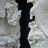 OEM-китайского фарфора белого керамического Будды Avalokitesvara рис.