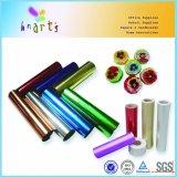 El papel de aluminio de papel metálico