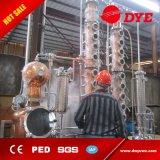 la columna de cobre del destilador 16plates de la vodka del reflujo 100L destila el equipo