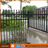 El panel tubular de acero galvanizado resistente de la cerca