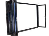 Puertas deslizantes de aluminio Bifold insonoras estándar Windows