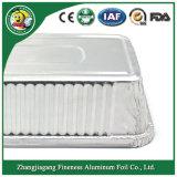 Cocina desechables ecológicas Contenedor de lámina de aluminio de uso