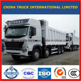 Venda do preço do caminhão de descarga das rodas HOWO A7 de China 12-Wheel Sinotruk 8X4 12