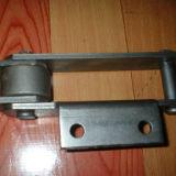 Corrente transportadora do passo do dobro do aço de liga do metal para a transmissão da indústria