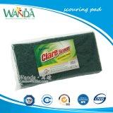 Nettoyage de la cuisine vert foncé Scourer tampons à récurer de nylon Pad
