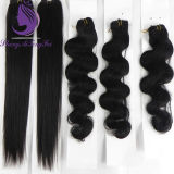 1b# Silky Straight Human Remy Hair Weave