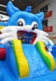 활주 Chob153를 가진 파란 고양이 쾌활한 팽창식 Funcity