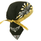 Custom печать полиэстер пиратской колпачки Шляпы