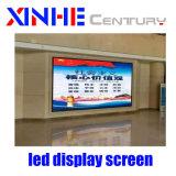 Tela de publicidade HD P4 a cores de tela do display LED para interior
