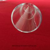 Tubo unico del quarzo trasparente
