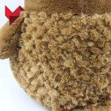 Hibou matériel mou de peluche de jouet animal réaliste bourré par qualité