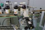 Automatischer vertikale Positions-runde Flaschen-Etikettiermaschine-China-Markt