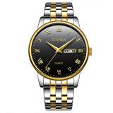 人ビジネス模造24K 18K金によってめっきされるReplic水晶腕時計