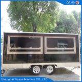 カスタム着色の中国の電気移動式食糧カートの価格かShawarma移動可能な機械