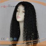 Perruque bouclée de cheveu de Vierge de plein Afro de lacet (PPG-l-0940)