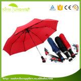 23 van de LEIDENE van de duim leiden Paraplu van de Schacht met de LEIDENE Paraplu van de Toorts
