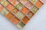 Tegel van het Mozaïek van het Glas van de Kleur van de Regenboog van Foshan van Sh101 de Kleurrijke