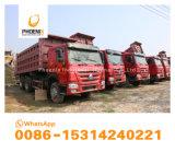 최고 조건 10 타이어 6X4 팁 주는 사람을%s 가진 저가 HOWO에 의하여 사용된 덤프 트럭은 아프리카를 일을 준비한다
