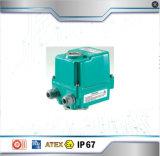 actuador eléctrico proporcional de la válvula de mariposa 4-20mA